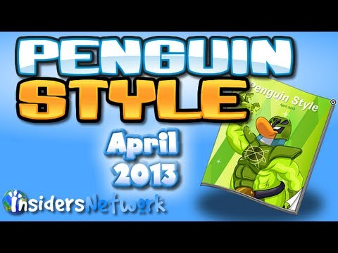 Club Penguin: April 2013 Clothing Catalog Cheats