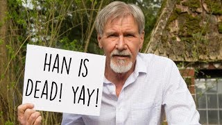Why Does Harrison Ford Hate Han Solo? (Re-upload)