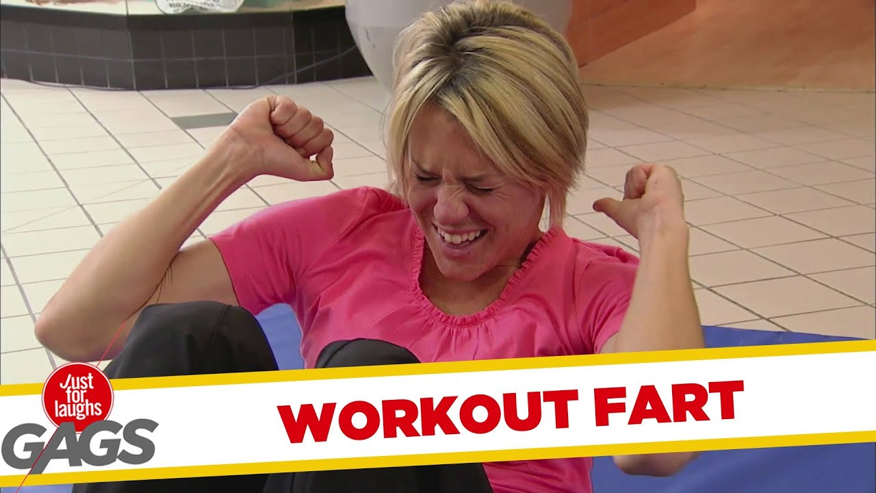 Sit-Up Workout Fart!!!