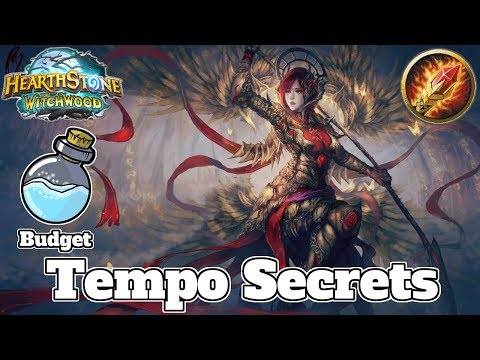 Budget Tempo Secret Mage Witchwood | Hearthstone Guide How To Play