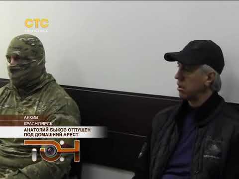 Анатолий Быков отпущен под домашний арест