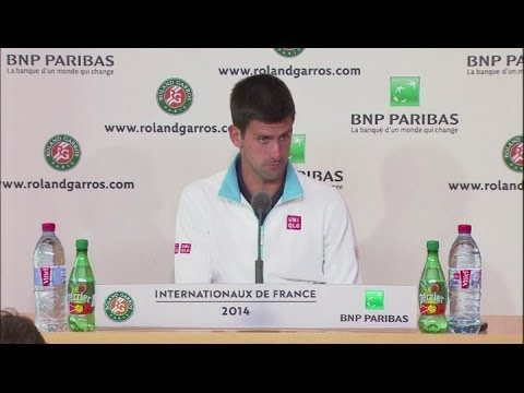 Djokovic 'fatigued' after semi-final victory [AMBIENT]