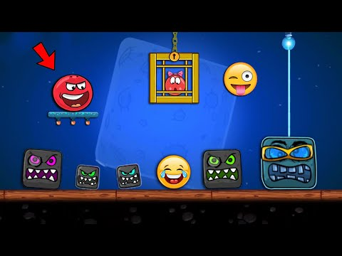 """RED BALL 4 - Super Red Ball """"FUNNY SUPERSPEED"""" Gameplay in Volume 4 with Boss Fight"""