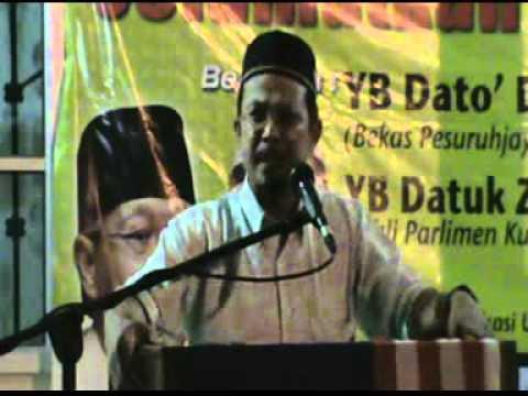 Ceramah Zulkifli Noordin di Kampung Kuantan, Klang 29 Mac 2012 (Part 1)