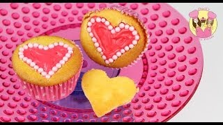 PEARL HEART CUPCAKES Love Hearts Mothers Day Or