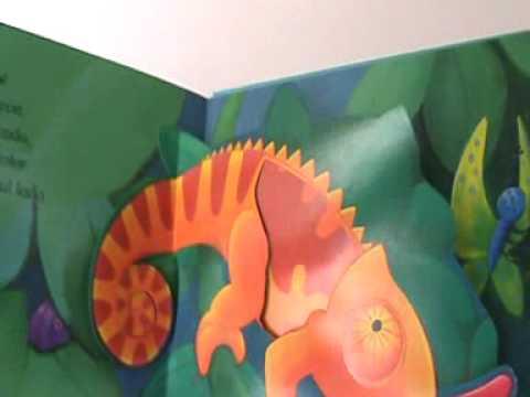 El Cocodrilo Inteligente Libro Pop-Up para Niños Children Popup Book