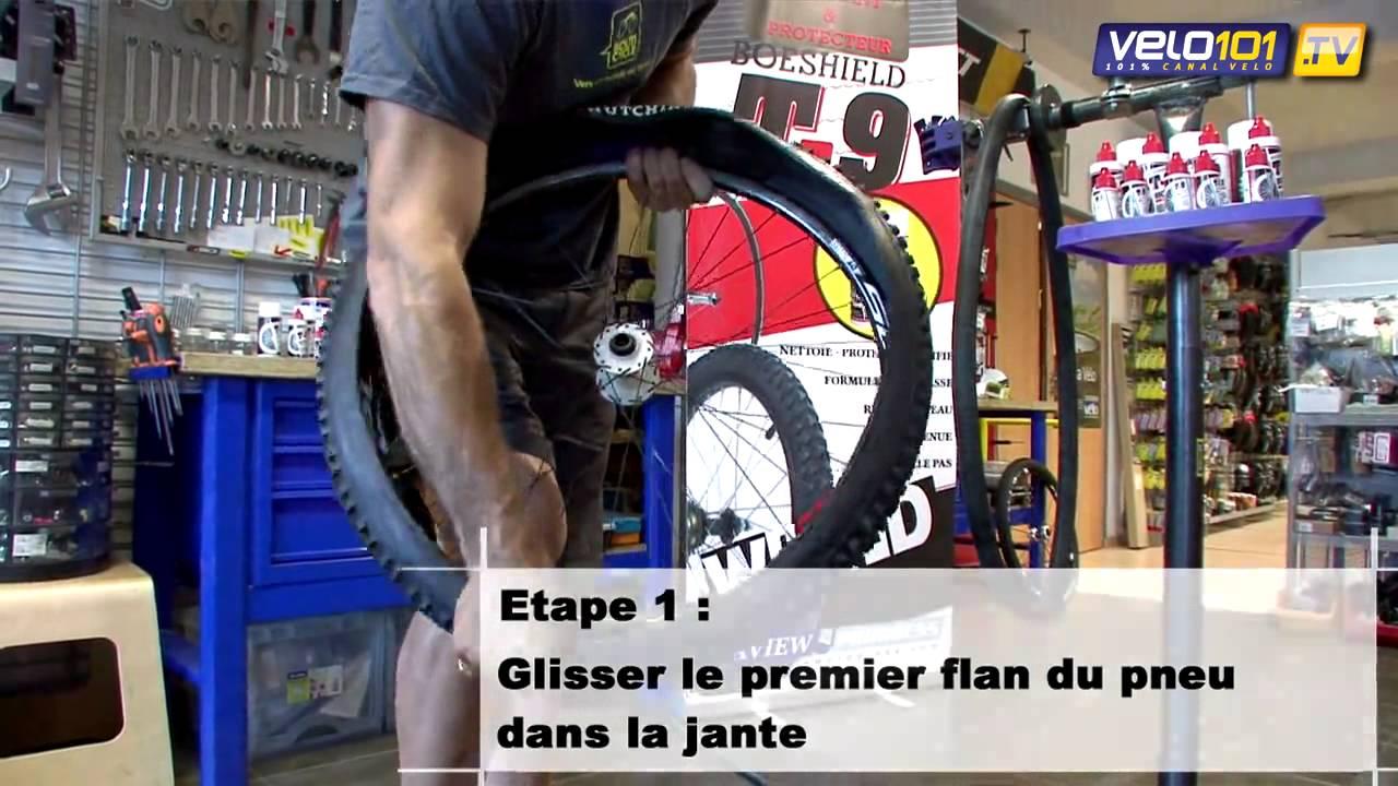 Lubrifiant Vélo T9   Leçon de mécanique   Monter un pneu tubeless