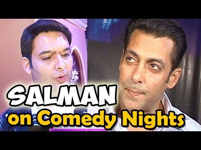 Comedy Nights With Kapil | Salman Khan to promote 'Jai Ho' on Comedy Nights with Kapil
