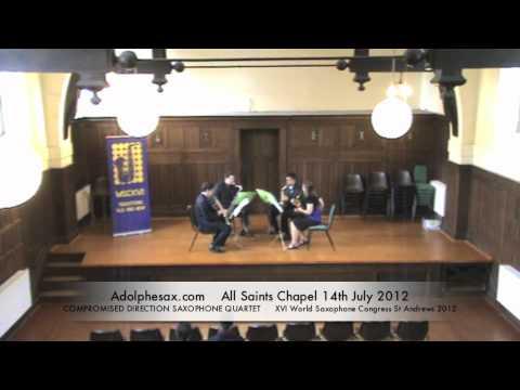 WSCXVI COMPROMISED DIRECTION SAXOPHONE QUARTET   Nostros by Salvatore Macchia