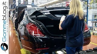 Mercedes S-Class Luxury CAR FACTORY - How It's Made ASSEMBLY