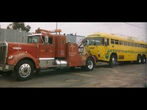 1962 kenworth loud jake brake  kw  wrecker