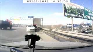 Подборка ДТП с видеорегистраторов 40 \ Car Crash compilation 40