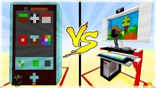 Thử Thách Làm Máy Tính và Điện Thoại Trong Minecraft (Minecraft)