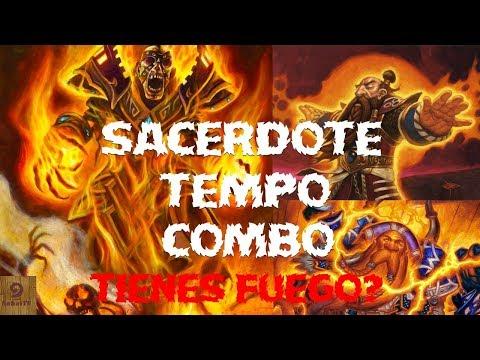 Hearthstone mazo sacerrdote tempo deck priest combo 💥 gameplay en español