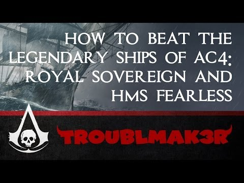 Assassin's Creed Black Flag Legendary Ship Strategy 2 of 4: Royal Sovereign and HMS Fearless