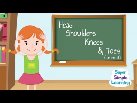 Head Shoulders Knees & Toes (Learn It!)