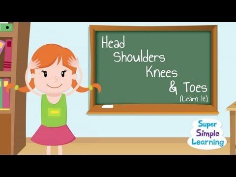 Head Shoulders Knees & Toes (Learn It!)