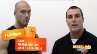 Pré-treino com Carlos Tomaiolo e Rafael Bracca