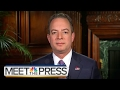 Reince Priebus Full Interview On Mike Flynn, VP Pence, Russian Contact | Meet The Press | NBC News