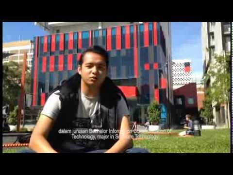 Malaysian Student at Swinburne University of Technology, Hawthorn Campus