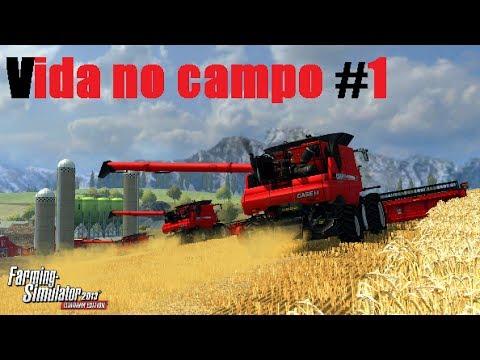 Farming Simulator 2013 Titanium - Vida no Campo #1 Nova serie do canal