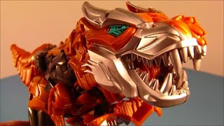 TRANSFORMERS 4 FLIP And CHANGE GRIMLOCK AGE OF EXTINCTION