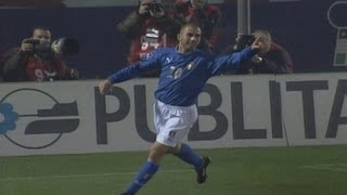 Highlights: Italia-Romania 1-0 (16 novembre 2003)