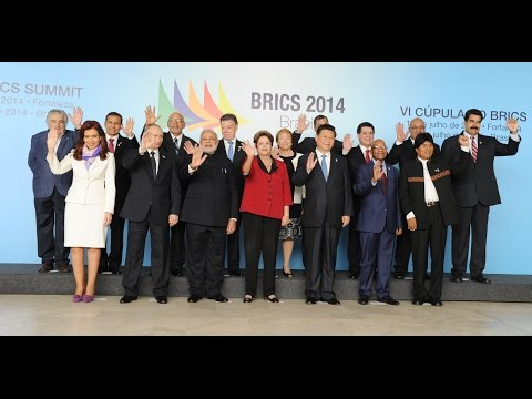 PM Narendra Modi with BRICS and South American Leaders