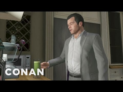 "Money's Changing ""Grand Theft Auto V"" Characters,"