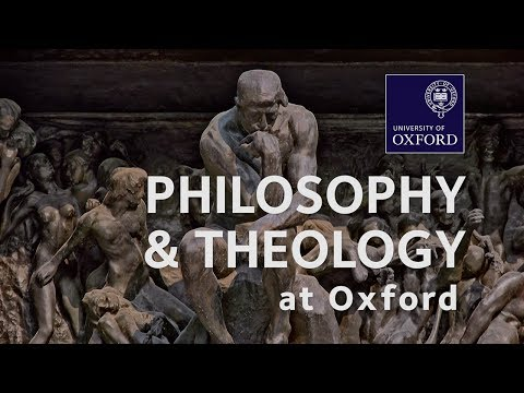 Philosophy and Theology at Oxford University
