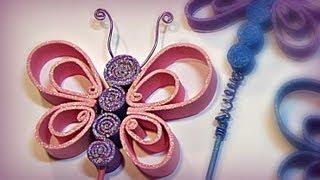 Como hacer mariposas de goma eva