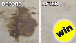 Cómo quitar las manchas de aceite del coche del suelo