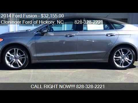 2014 Ford Fusion Titanium - for sale in Hickory, NC 28602