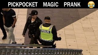 Pickpocket Magic PRANK-Julien Magic
