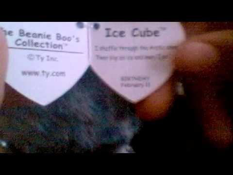 Beanie boo ice cube review youtube