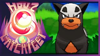 How & Where To Catch/get Houndour In Pokemon X [Version