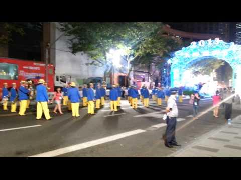 Nostalgia Steelband prepare - opening show, Shanghai Tourism Festival 2013