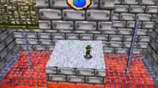 Super Mario 64 DS Bowser En La Lava