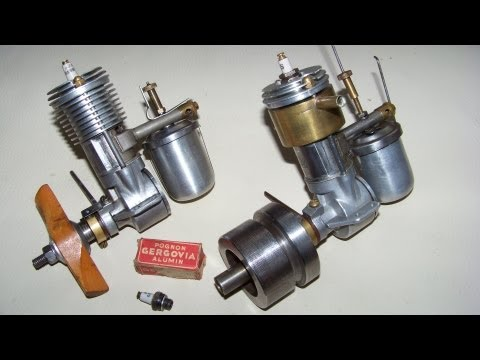 Spark ignition model engine  (vintage,not nitro, glow,  rc or diesel)