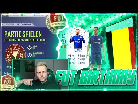 FIFA 18: FUT BIRTHDAY Pack Opening + WEEKEND LEAGUE 😱
