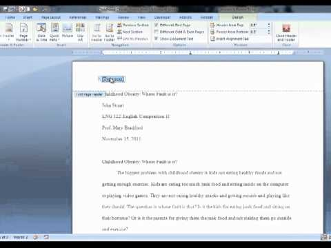 chicago style term paper