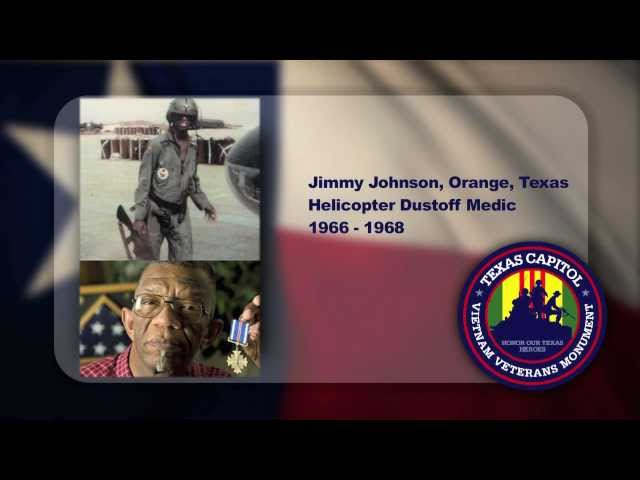 Jimmy Johnson -- Texas Capitol Vietnam Veterans Monument