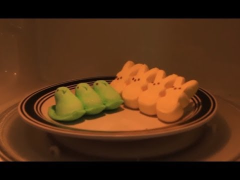 Peep in Microwave - Happy Easter Experiment