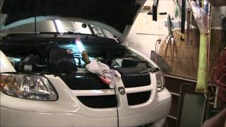 Dodge Caravan Heater RearHose Replacement