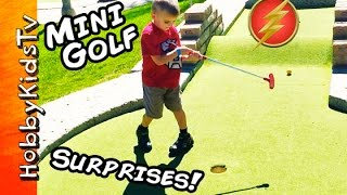 Miniature Golf Surprises and Toy Hunt