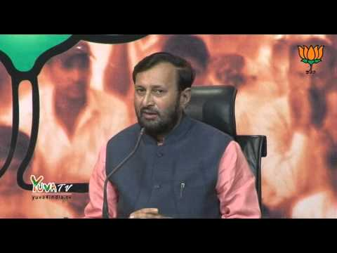 BJP Press by Shri Prakash Javadekar on RBI repo rate and LPG cylinders.