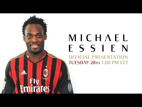 AC Milan | Michael Essien - Official Presentation/Presentazione ufficiale #WelcomeEssien