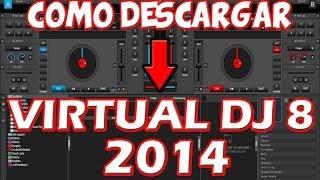 COMO DESCARGAR VIRTUAL DJ PRO 8 COMPLETO FULL EN ESPAÑOL