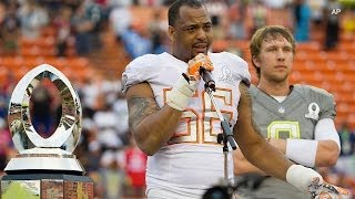 Derrick Johnson: NFL Pro Bowl MVP [Feb. 19, 2014]