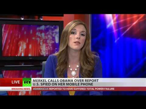 Merkel calls Obama about NSA spying on her cell phone